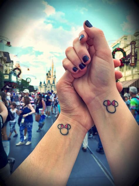 disney sister tattoos best 20 matching disney tattoos ideas on
