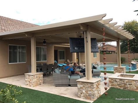alumawood patio cover patio pergola covers for phoenix arizona