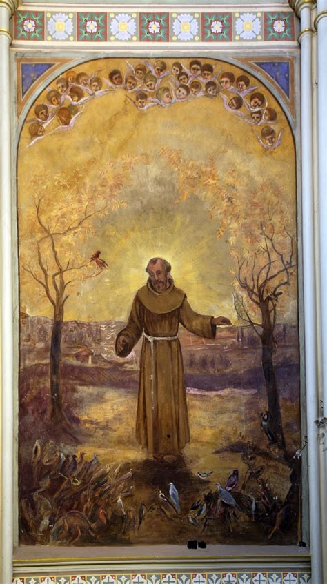 who was st the burning of st francis of assisi