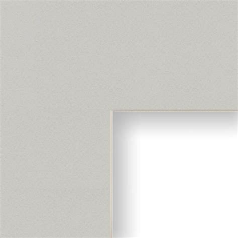 10 X 15 Mat Opening - 14x20 inch mat 10x15 inch single opening image gray with