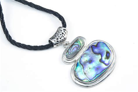 abalone jewelry abalone shell necklace shell necklace blue green paua