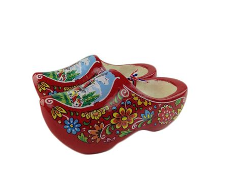 Wooden Shoes Just Got Hip by Decorative Shoe Clogs W Windmill Design 7