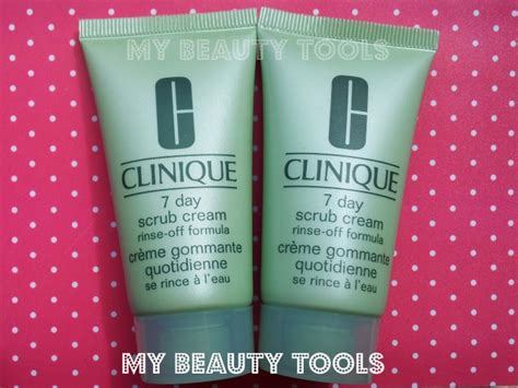Clinique 7 Day Scrub recensione clinique 7 day scrub my tools