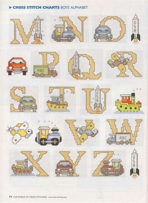 1000 images about cross stitch for baby boy on cars cross stitch and count