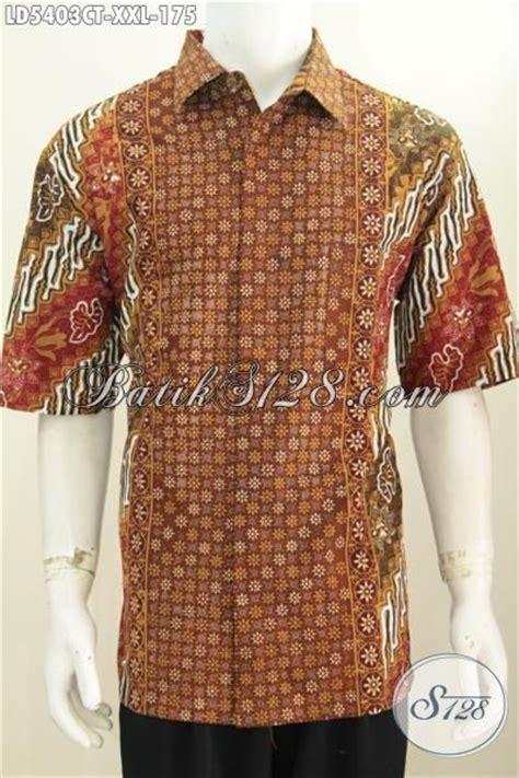 Batik Cap Laki Laki Lengan Panjang pakaian batik elegan kwalitas bagus bahan adem proses cap