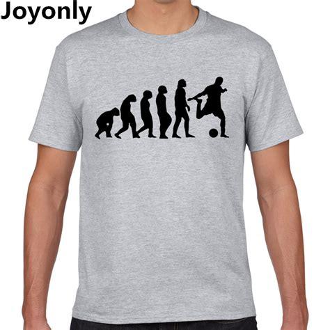 Tshirt Kaos Big 6 313 Clothing joyonly evolution of footballer t shirt design tops t shirt cool novelty tshirt style