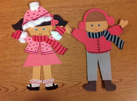 paper doll craft paper doll pattern