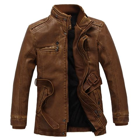 leather motorcycle jacket brands winter warm motorcycle leather jacket s casual