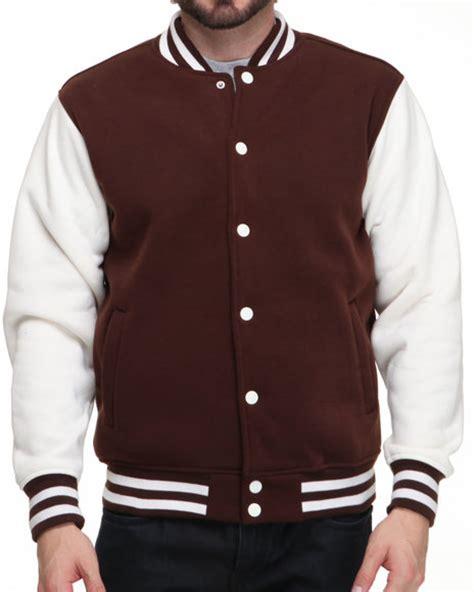Jaket Varsity Brown brown letterman jacket outdoor jacket