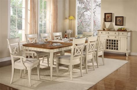 stunning country style dining table and chairs 61 about