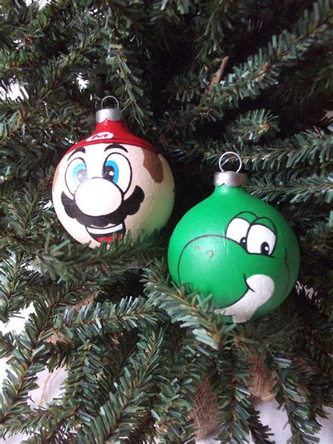 gamer tree toppers super mario christmas ornaments