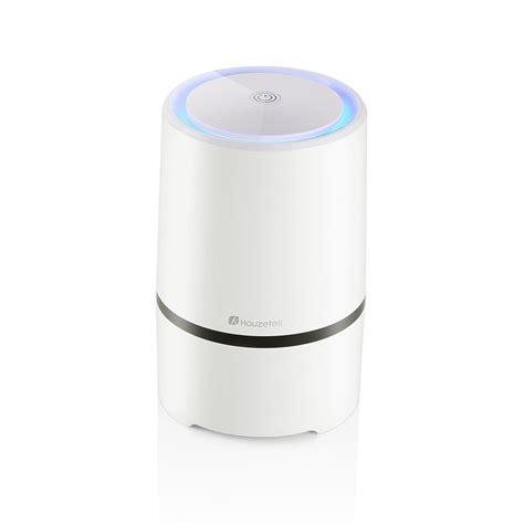 houzetek air purifier hepa filter portable ozone ionic air