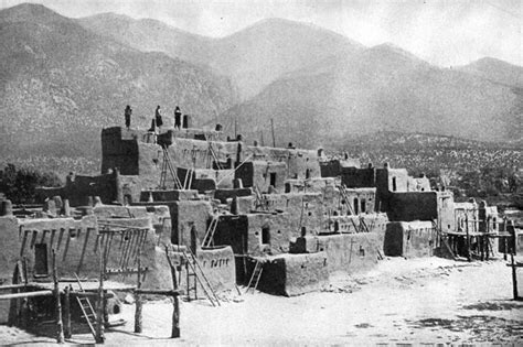 pueblo indian dwellings