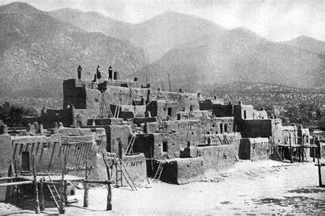 pueblo indian dwellings