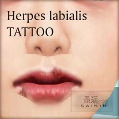 tattoo of us herpes 1000 images about herpes labialis on pinterest home
