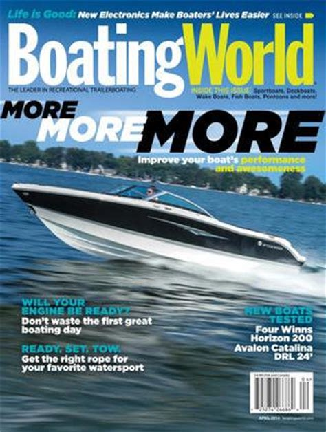 boating magazine cover price boating world magazine subscriptions renewals gifts