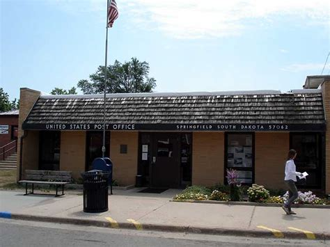 Post Office Springfield by Springfield South Dakota Pictures