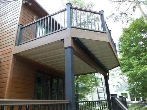second floor deck plans second floor deck designs homes floor plans
