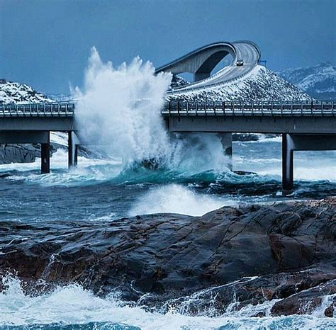 atlantic ocean road norway quoteslodge is all about