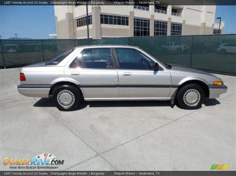 Headl Honda Accord Prestige 1986 1987 1987 honda accord lxi sedan chagne beige metallic burgundy photo 2 dealerrevs