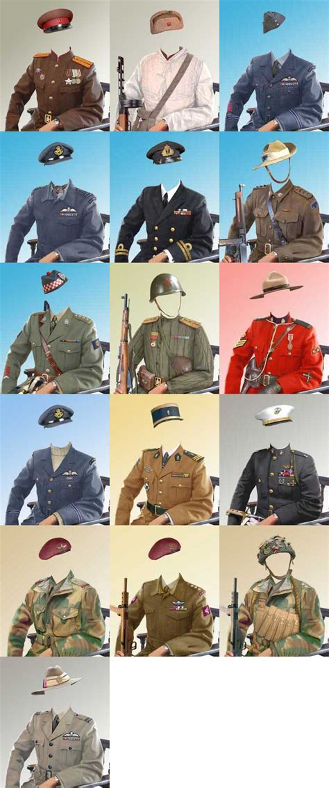 military uniform templates for photoshop german army uniforms 44