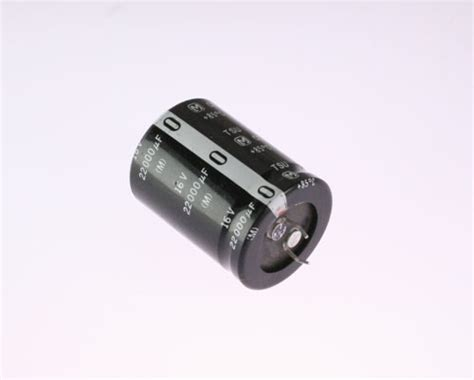 how do snap in capacitors work 10x 22000uf 16v radial snap in mount electrolytic aluminum capacitor mfd dc