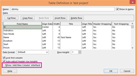 Html Table Definition Microsoft Office Tutorials Hide Or Unhide A Column In A
