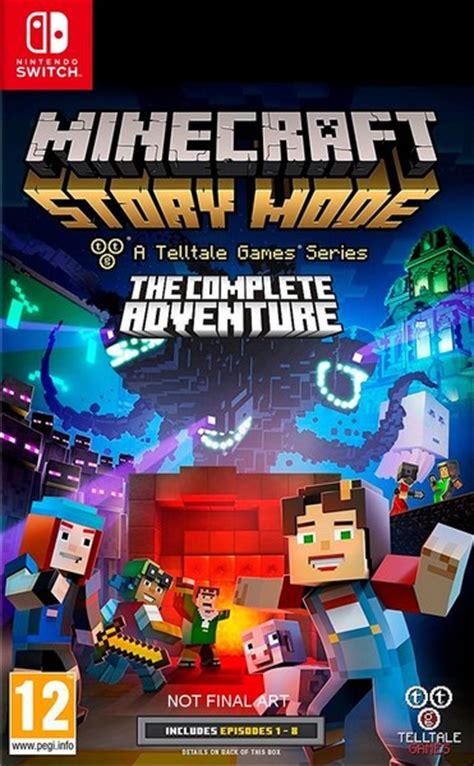 Kaset Switch Minecraft Story Mode The Complete Adventure Minecraft Story Mode The Complete Adventure Nintendo Switch Raru
