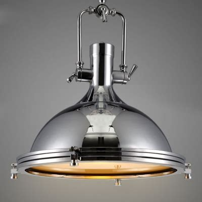 lade industriali a sospensione nautical style 1 light 15 75 wide frosted glass indoor