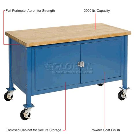 mobile work benches mobile work bench mobile cabinet workbenches 72 quot w x 30
