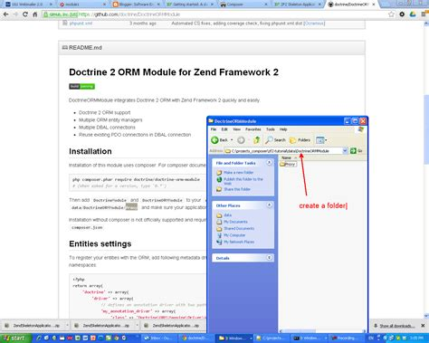 zf2 layout in module software engineering php composer how to install and use