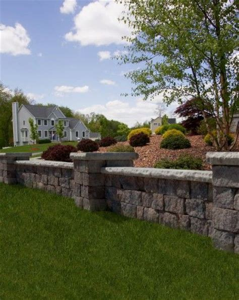 Unilock Retaining Wall Installation 17 Best Images About Unilock Gallery On
