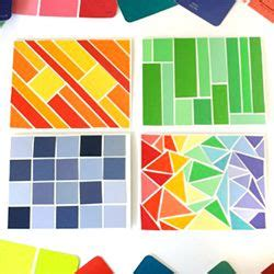 35 best images about paint chip crafts on