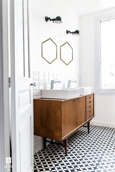 35 Trendy Mid Century Modern Bathrooms To Get Inspired Modern Retro Bathroom