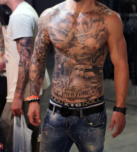 men stomach tattoos collection of 25 showing chest and stomach tattoos