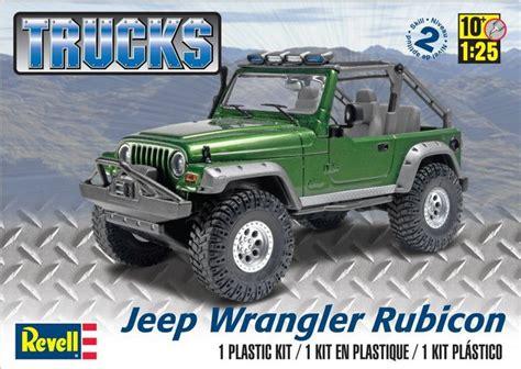 Jeep Wrangler Model Kit Revell Jeep Wrangler Rubicon Model Kit