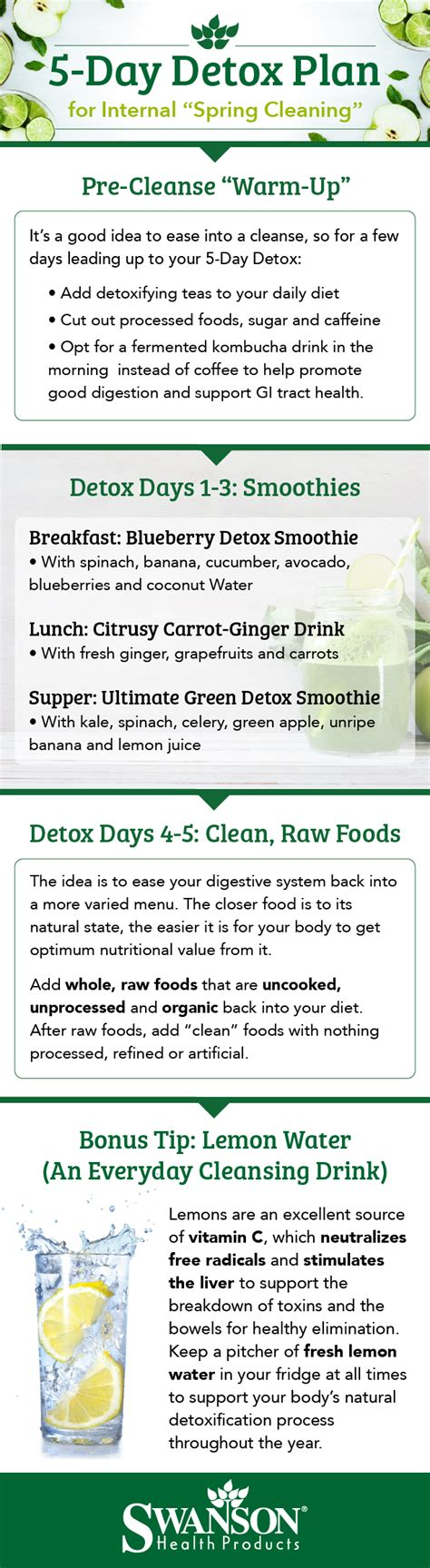 5 Day Detox Cleanse Plan by 5 Day Detox Plan