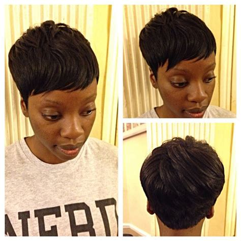 sewin hair called the bump black short hair weave 1 1b 27 pieces with free closure