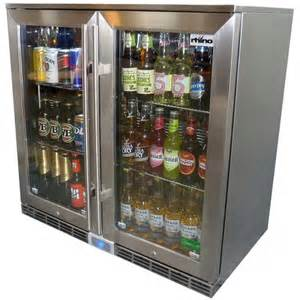 Rhino 2 Door Alfresco Outdoor Glass Door Bar Refrigerator Glass Door Fridge Australia