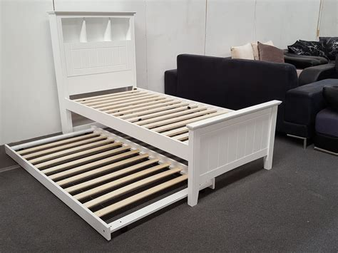 bed on wheels furniture place kaylee single bed with box headboard pull out trundler bed on