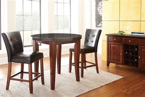 granite dining room sets granite bello counter height dining room set from