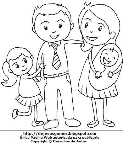 imagenes sobre la familia para pintar dibujos fotos acrostico y mas dibujos de la familia para