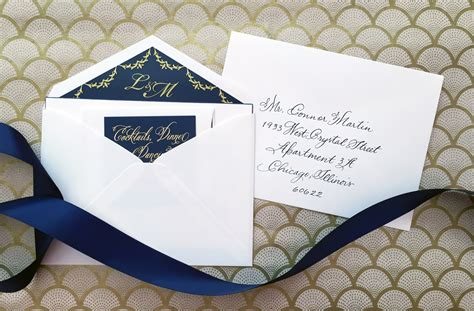 nico and lala wedding invitation etiquette inner and outer envelopes