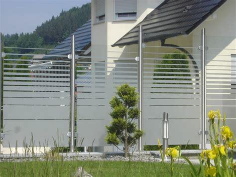 glas sichtschutz terrasse sichtschutz glas edelstahl sichtschutz terrasse und