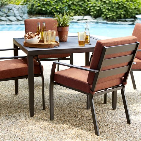 patio furniture set ty pennington brookline 5 dining set limited availability outdoor living patio
