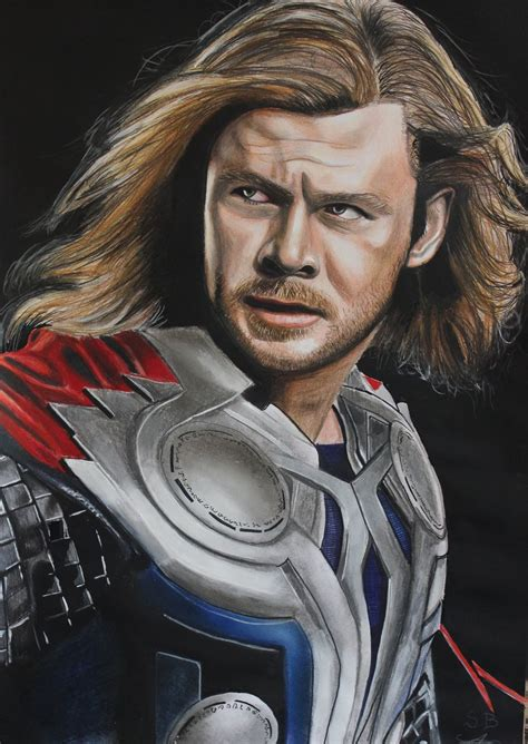 film fantasy z hemsworthem how i draw chris hemsworth thor 2 the dark world youtube
