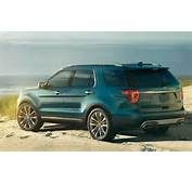 2016 Ford Explorer Rear Angle View  LATESCAR
