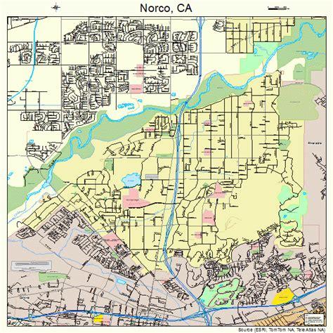 norco california street map 0651560