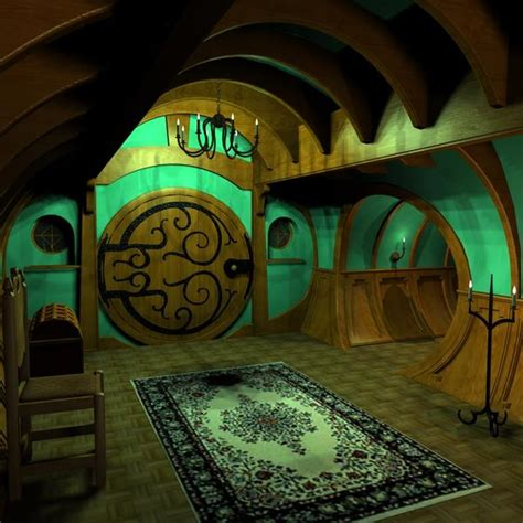 Hobbit Home Interior Hobbit House On Pinterest Hobbit Houses Hobbit And Floor Plans