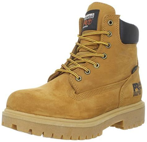 Sepatu Tinberland Boots Safety Leaher Ujung Besi Best Seller timberland pro s 65016 direct attach 6 quot steel toe boot yellow 8 5 m authenticboots